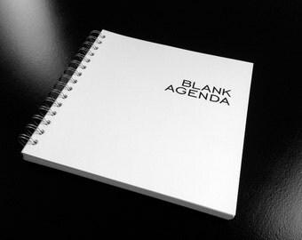 BLANK AGENDA   The Timeless Agenda