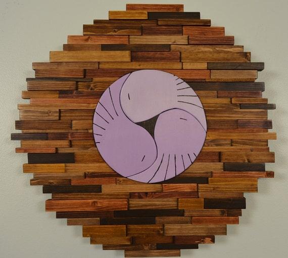 Wood Wall Art Birds Of A Feather 3 Bird Nest