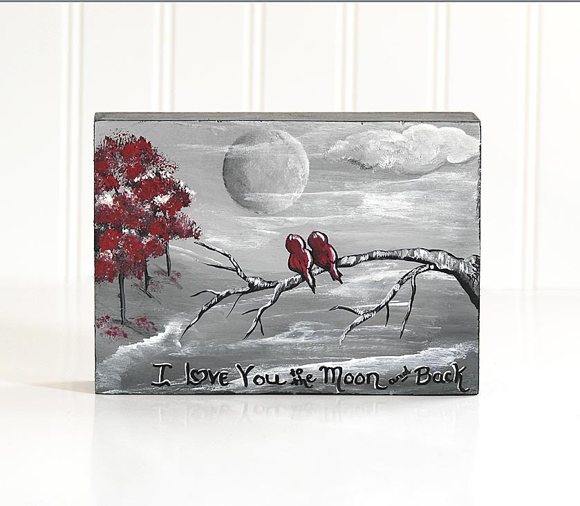 Sentimental Wedding Gifts For Couple : Romantic Gift Wedding Gifts for Couple I Love You to the Moon