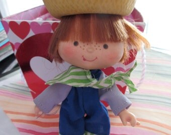 Second Issue Strawberry Shortcake Doll: Huckleberry Pie (no Pupcake)