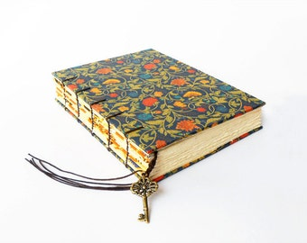 Arboretum Foil - Coptic Bound Guestbook, Journal, Notebook, Sketchbook