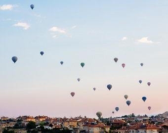 Hot Air Balloon and Sunrise Photography in Cappadocia, Turkey