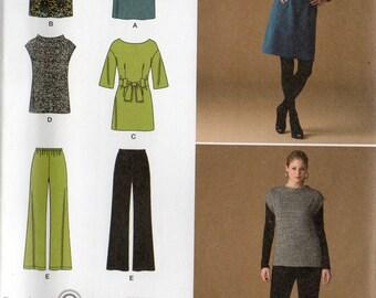Simplicity Pattern 2814 TUNIC DRESS PANTS Top  Misses Sizes 8 10 12 14
