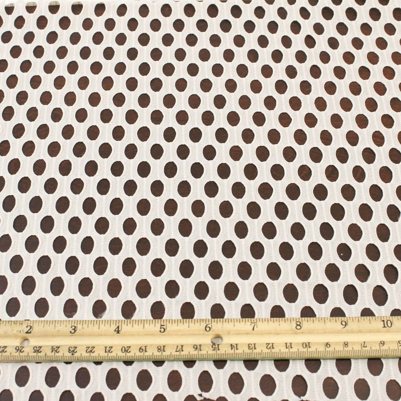 Tan fishnet lace fabric by the yard or wholesale circular for Cheap fabric by the yard