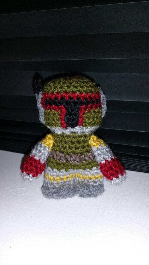 Amigurumi Free Pattern Dinosaur : Crochet Amigurumi Star Wars Boba Fett