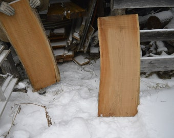 Seasoned unfinished cherry wood slab, rustic, bartop, live edge, table, unique!