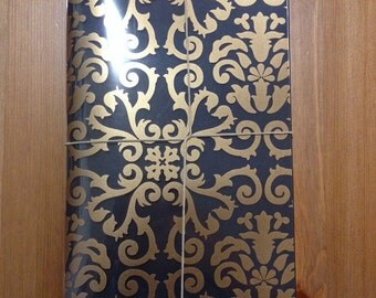 Black and Gold paper journal