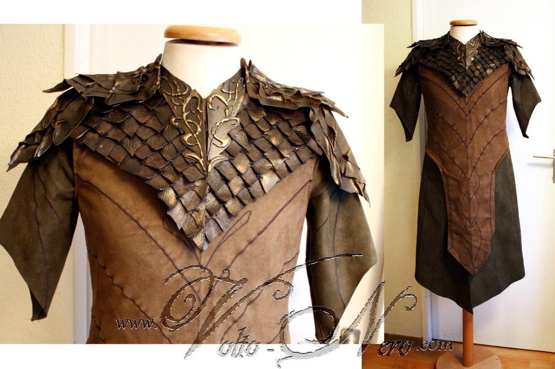 Legolas tunic cosplay costume The Hobbit by VoltoNero on Etsy