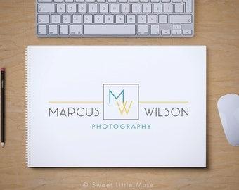 Modern Logo Design - premade logo and watermark - business logo design - professional logo