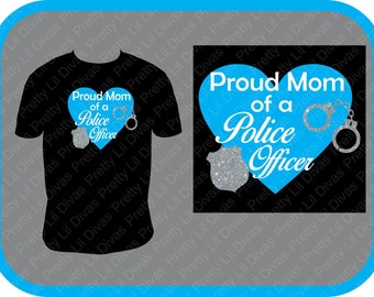 Proud Police  Mom shirt