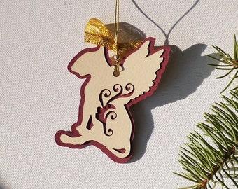 Dog Christmas decoration Bull Terrier Balthazar