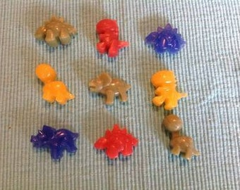 Dinosaur favor soaps, dinosaur party favor soaps, dinosaur party favors, dino soaps, vegan ( 10 packs of 3)