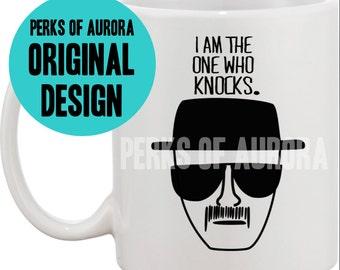 I Am The One Who Knocks coffee mug