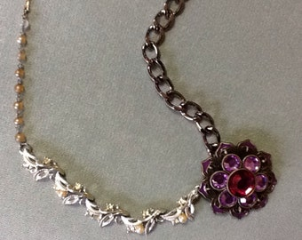 Mix of Vintage and New Necklace