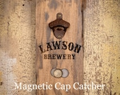 "Personalized ""Brewery"" Vintage Style Magnetic Bottle opener ~ Beer Opener ~ Rustic ~ Antique-look"