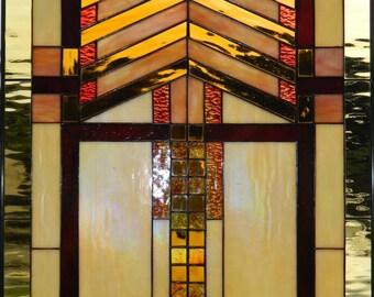 PRAIRIE STYLE WINDOW  (Arts & Crafts)