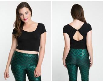 Premium Green Mermaid Leggings