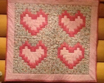 Sweet hearts wallhanging
