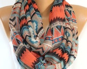 SALE Tribal Scarf Southwestern Aztec Scarf Winter Accessory Christmas Gift For Her Woman Fashion Scarf Holiday Christmas Gifts Ideas For Her