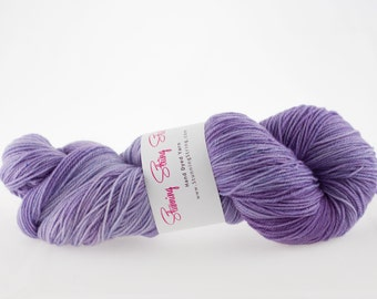 Wisteria - Luxury Fingering Weight - Merino, Cashmere & Nylon - 100g - 425 yds