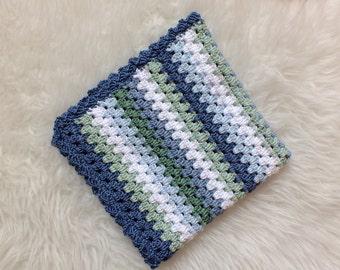 Crochet Blanket Pattern, Finn