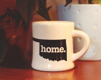 Oklahoma home. Ceramic Coffee Mug