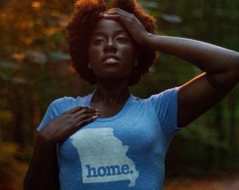 Missouri Women's T-Shirt (Navy, Light Blue, Grey, Black)