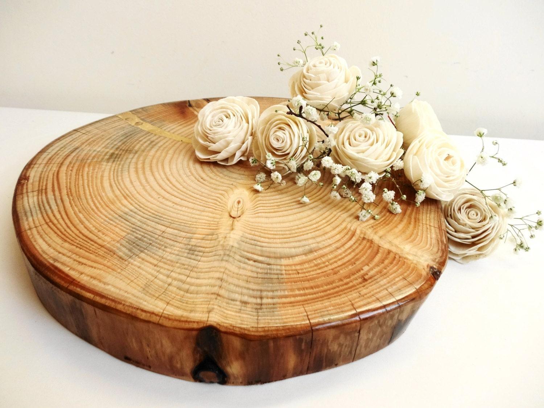 Snap Wood Slab, Wood Slice Cake Stand, Rustic Cake Stand, Birch Wood ...