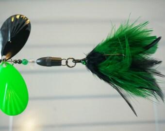 Kelly Green FlyStyle Muskie Bucktail