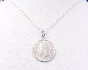 Sixpence pendant