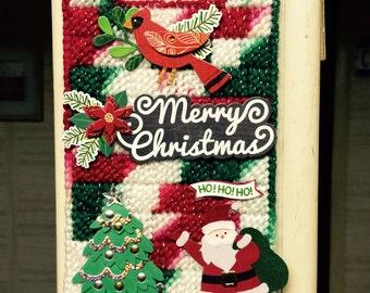 Merry Christmas Doorknob Hanger