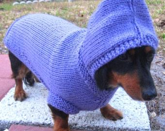 Dog Hoodie, Daschund sweater, Maltese sweater, Italian Greyhound sweater, Chinese Crested sweater, dog clothing, dog jumper, dog accessories