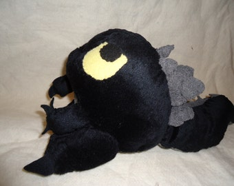 Hand made Godzilla plush