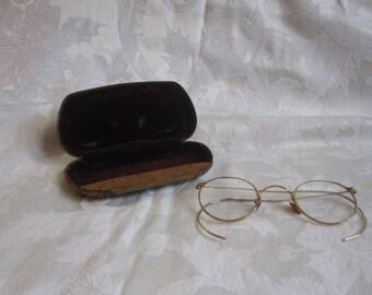 B&L Gold Wire Ful Vue Eyeglasses