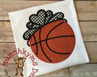 Basketball Tiara Applique