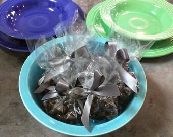 Vintage Fiestaware Nappy Bowl