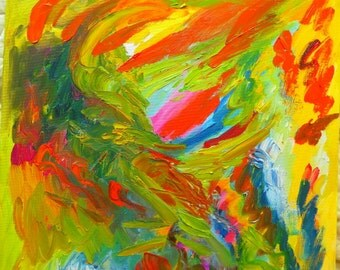 Original oil abstract painting ( Modern art)