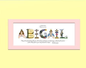 Confirmation Gifts for Boys and Girls Personalized Christian