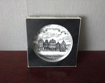 Boxed Mosa Maastricht Five Flies Restaurant Tip Dish Coaster Holland
