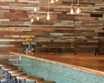 Reclaimed Wood Wall Panel