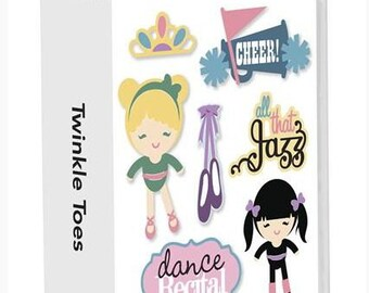 Brand New CRICUT Twinkle Toes Cartridge for Dance Ballet