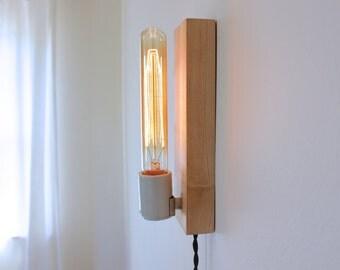 industrial lighting, plug in wall lamp, modern lamp