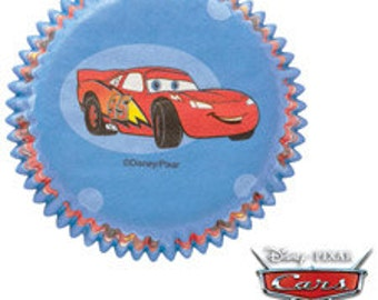 Wilton Cupcake Liners CARS 50 Liners per pack Baking Cup Muffins, Crafts