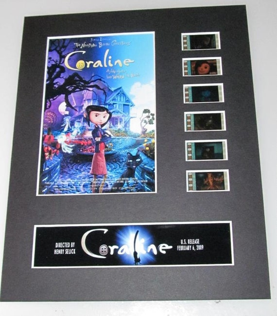 Coraline Animated Gothic Henry Selick Frame Ready Matted Movie