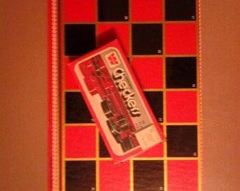 1970s checkers board