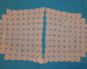Two Vintage Doilies Antimacassars