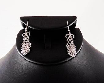 Koi Scale Maile Earrings