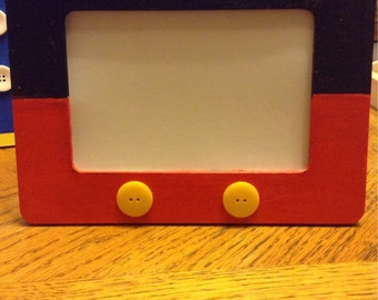 Mickey mouse inspired picture frame