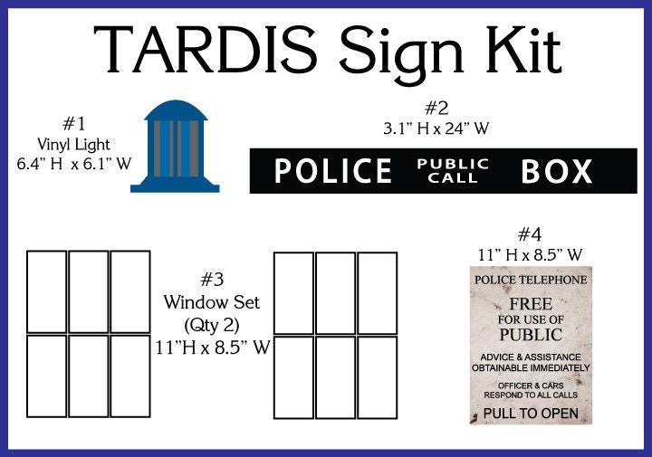 Shocking image intended for tardis sign printable