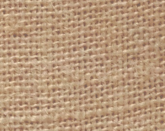 """60"""" Inch Florida Sand Color Burlap - By The Yard"""